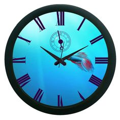 Water Wall Clock (With Glass)
