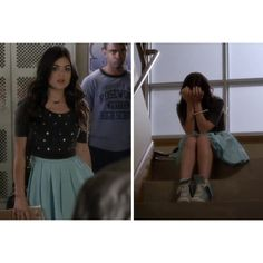 'Pretty Little Liars' Style Recap ❤ liked on Polyvore featuring pretty little liars