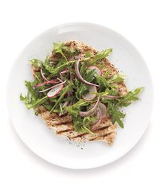 Get the recipe for Chicken Milanese With Arugula Salad.