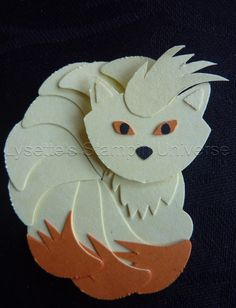 Gotta Craft Them All challenge dag 39: Ninetails https://www.facebook.com/Lysettes.stampin.universe/