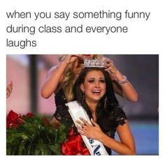 When you say something funny during class and everyone laughs:  「If you enjoy my posts, please give a follow to my profile! 」  #Relatable #Funny #True #... - Dan TM - Google+