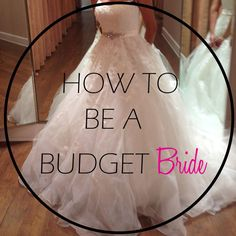 How to be a budget bride!! Tips and tricks to saving a buck for your wedding! Check out my new budget bride wedding checklist! #bride