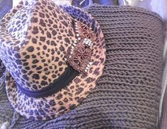Our knits pairs beautifully with hats by Phoebe Price Designs...
