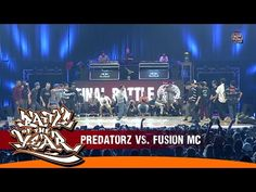 INTERNATIONAL BOTY 2014 - FINAL - PREDATORZ (RUSSIA) VS FUSION MC (KOREA... Just back from there ... AWESOME!