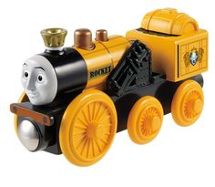 Amazon.com: Fisher-Price Thomas the Train Wooden Railway Stephen: Toys & Games