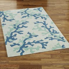 Coral Rug... for that ocean room!