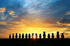Easter Island - 15 imposing moai statues