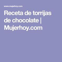 Receta de torrijas de chocolate  |  Mujerhoy.com