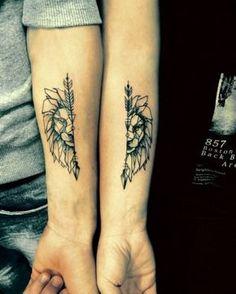 Deze matching tattoos zijn het overwegen waard - Jani