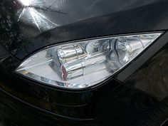 car light black eye