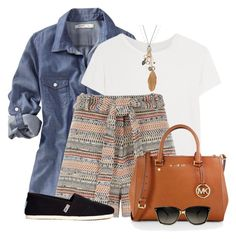 Shorts & Toms by colierollers on Polyvore featuring polyvore fashion style Old Navy R13 River Island TOMS MICHAEL Michael Kors Mudd Rebecca Minkoff women's clothing women's fashion women female woman misses juniors