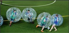 Bubble football: Outdoor games, Bubble football and its advantages