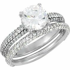 Engagement Ring or Matching Band | Stuller.com
