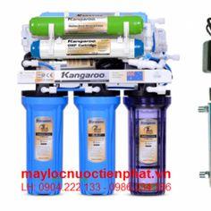 Máy lọc nước kangaroo 10 lõi lọc kg109 đèn uv
