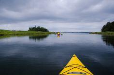 Kayaking Location: Brackley Bay, Prince Edward Island Submitted by: Johan B.
