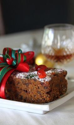 Easy Christmas Fruit Cake Recipe
