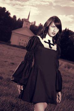 sc 1 st  Pinterest & Adult Bad Habit Nun Costume   Pinterest   Nun costume and Costumes