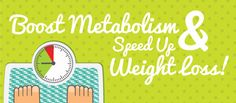 When it comes to losing weight and being healthier, increasing your metabolism plays a crucial role. Rev your metabolism by following these simple rule and speed up weight loss.