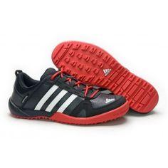 Adidas Daroga Two Læder Sort Rød Herre