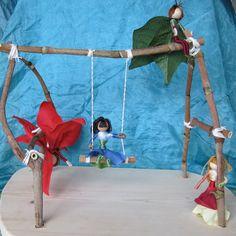 Fairy / critter swing set