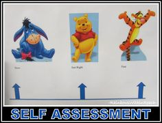 Self Assessment Tool for Children: Spectrum of Activity in Winnie-the-Pooh Characters (Visual Cue RoundUP at RainbowsWithinReach)