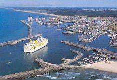 Fred Olsen - Postkort Braemar I Hirtshals Havn. Viking Line, Merchant Navy, North Sea, Water Crafts, Olsen, Days Out, Amsterdam, Transportation, Ships