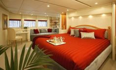 Glamorous Yachts Interior Design Examples That Will Amaze You 42