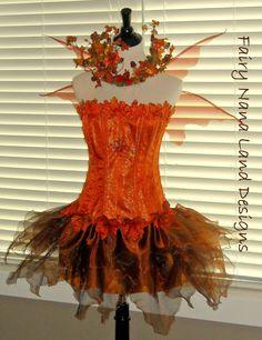 faerie costume for festival   fairy costume copper leaf faerie adult sizes faeriecon faerieworld ...