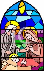 stained glass nativity scene - Google Search