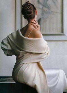 """A Life of Luxury"", ELLE UK, September 1989 - Photographer: Marc Hispard, Model…"