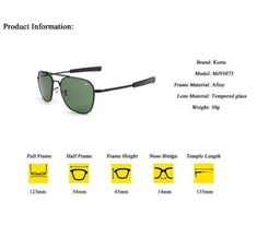 7722b8d0cabe Details about Magic Aviator Sunglasses American Eyewear AO Army Military  Pilot Optical Glass