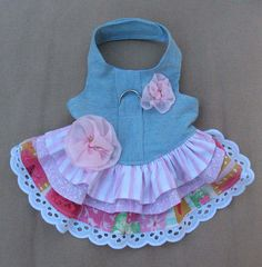 Dog Harness Dress XXS