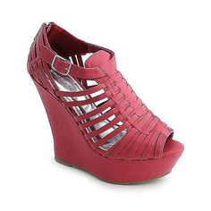 Bamboo  #shoes #wedge #sandals  $27