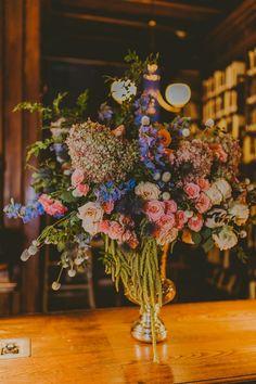 Lovely New York Wedding at the Brooklyn Historical Society - MODwedding