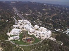 The Getty Museum, Los Angeles, California, USA, architectural design