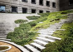 You are in the right place about Landscape Architecture path Here we offer you the most beautiful pi Landscape Stairs, Landscape And Urbanism, Landscape Architecture Design, Sustainable Architecture, Urban Landscape, Urban Garden Design, Outdoor Stairs, Parking Design, Garden Planning