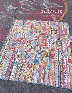 Gypsy Wife By Jen Kingwell Quilting Booklet Jen Kingwell ...