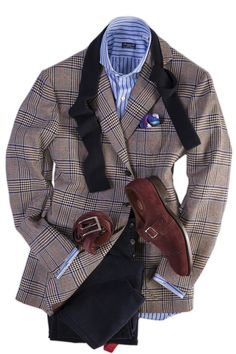 This handmade Attolini jacket is cut from a pure cashmere fabric exclusive to Cesare Attolini of Casalnuovo, just north of Naples, Italy. The make is class Stylish Men, Men Casual, Suit Fashion, Mens Fashion, Cashmere Fabric, Elegant Man, Suit And Tie, Well Dressed Men, Gentleman Style
