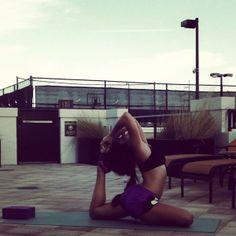 King Pigeon Pose » Yoga Pose Weekly