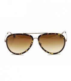 Tory Burch Ty6025 Aviator Sunglasses