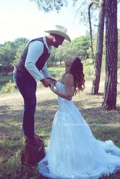 Western Wedding Photoshoot