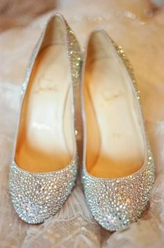 fancy flats. I'm def wearing flats instead of heels on my wedding day
