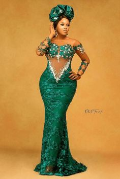 Nigerian Lace Styles Dress, Ankara Dress Styles, Lace Dress Styles, African Fashion Designers, African Fashion Dresses, African Dress, African Outfits, African Clothes, Pretty Dresses