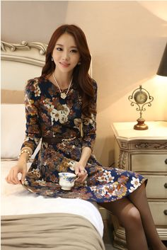 44602c34e Styleonme Casual, Floral, Manga, Ball Gown Dresses, Perfect Fit, Spring New