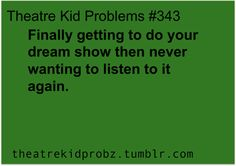 Happening as we speak. Tarzan... love it, ive always loved it.... but man those songs just wont get out [ theatre kid problems ]