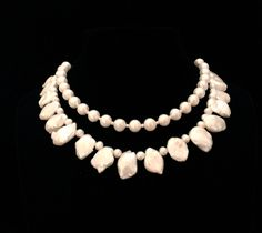 Exquisite necklace of top grade round and Keishi pearls. This will be finished as a ribbon tie necklace per the preference of the bride, but can be completed with a clasp component as well.