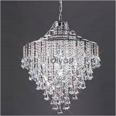 Pendant Light , Modern/Contemporary Chrome Feature for Crystal ...