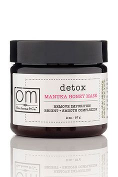 7 Simple Ways to Beat the Post #NYFW Crash - Om Aroma Detox Manuka Honey Mask