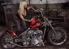 Indian Larry Chopper Ally