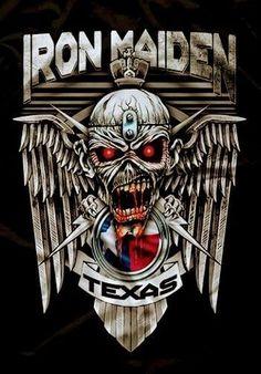 Heavy Metal Rock, Heavy Metal Bands, Black Metal, Iron Maiden Cover, Iron Maiden Mascot, Evil Pictures, Iron Maiden Albums, Iron Maiden Posters, Rock Festival